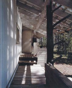 Finnish Summer homes #interior #design #light #space