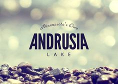 Logo Project: Branding 10,000 Lakes #effects #avant #type #logo #colour #typography