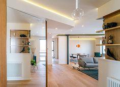 Spacious Apartment at Madrid by Zooco Estudio - InteriorZine