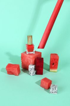 material girl #watermelon #summer #still #editorial #life #beauty