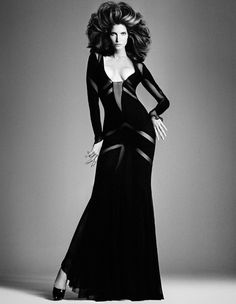 Stephanie Seymour by Daniele #fashion #model #photography #girl