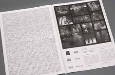 rChatham Billingham. Launch Event Newspaper. #logo design #identity design #website design #brochure design #3 #fish #in #a #tree #logo desi