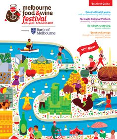 2012_mfwf_festival_guide 1_blog_gallery #illustration #design #food
