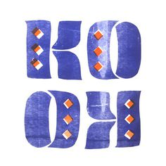 KooKnDesign from my recent T-shirt show. Get in touch for prints/Tees! #lettering #surf #blue #registration #typography