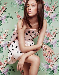 Yumi Lambert by Greg Kadel for Vogue China