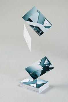 Lundgren+Lindqvist Design: Jennie Smith Photo Business Cards #presentation