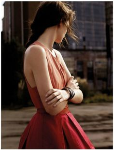 Beauty & Grace #in #dress #red #girl