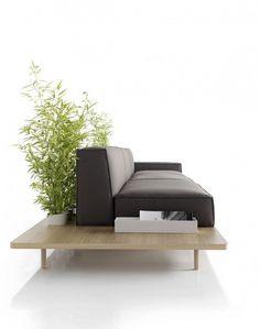 Onestep Creative - The Blog of Josh McDonald #interior design #minimal #modern #sofa