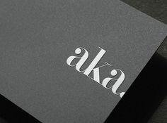 Stay Aka Card #branding #flux #aka #identity #stay #hotel #logo