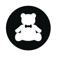 tumblr_m0flcpjzwB1qfv6eho1_1280.jpg 600×600 pixels #black #teddy #bear #bow #tie