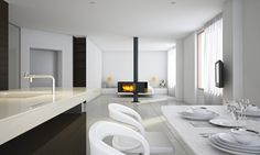 interior #light #white