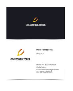 CRC Consultores Identity #cards #business