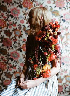 photo #woman #floral #photography #portrait #flowers
