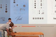 Timeline Mural : Livia Foldes