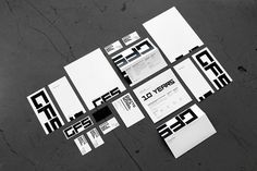 4: Ghetto Film School, New York, New York; Identity by Attack | 10 Inspiring Examples Of Small-Biz Branding | Co.Design: business + innovati #tape #color #black #identity #logo