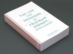 Wanted: Tristram Shandy Gets a Stunning Graphic Makeover | Co.Design #design #book