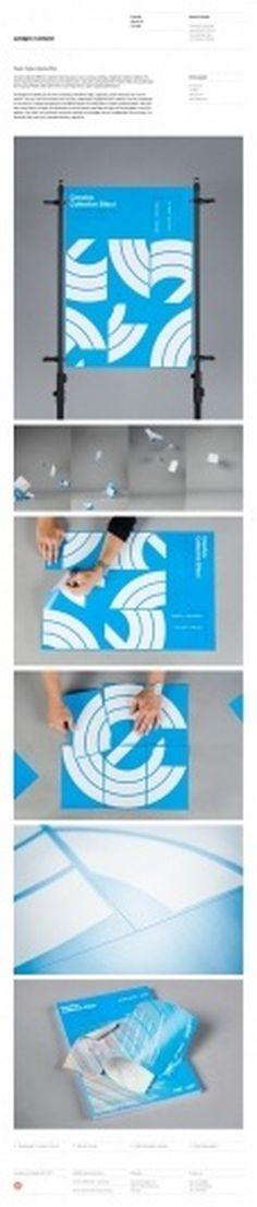 Lundgren+Lindqvist on Grid Based #graphic design #blue #websites