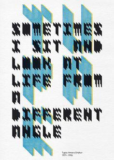 T_A_S_Poster | borisbo #type #treatment #poster #typography