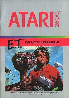 Atari - E.T. The Extra-Terrestrial   Flickr - Photo Sharing! #atari #games #set #video #illustration #manual #booklet