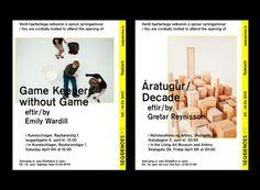 Arnar Freyr Guðmundsson, Graphic designer #invitation