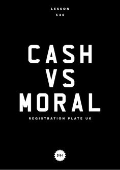 LESSON 546 #cash #lesson #design #moral