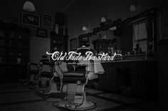 Old Fade Bastard - Barbershop by Bruno do Nascimento #lettering #calligraphy #script #vector #logo #logotype #barbershop #vintage