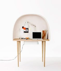Dezeen » Blog Archive » Rewrite by GamFratesi #furn #furniture #desk #modern