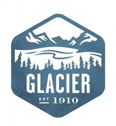 glacier #logo #stamp