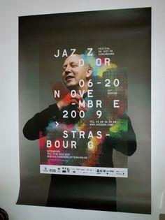 - jazzdor 09 : HELMO #poster #typography