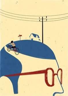 Surreal Illustrations by Alessandro Gottardo | 123 Inspiration #surrealistic #illustrations