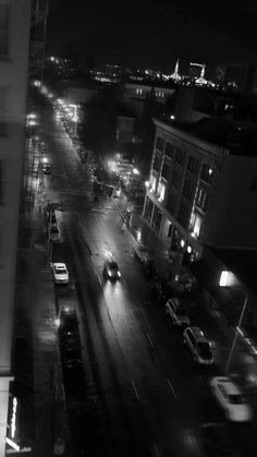 Night #b&w #photography #portland #oregon