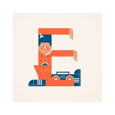 Alphabets on the Behance Network #type #illustration