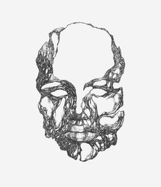 Face 01 by Magdalena Dymanska #illustration #design #graphic #art