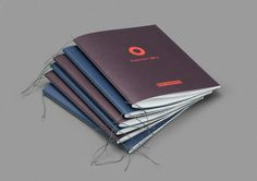 BlÜ-station #thread #booklet #binding