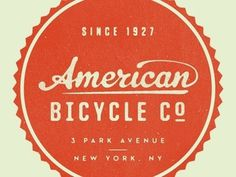 American Bicycle Co. #logo #design #graphic #lettering