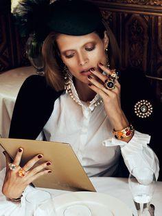Malgosia Bela by Lachlan Bailey for Vogue Paris