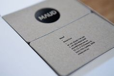 Maud Business Cards - FPO: For Print Only