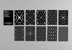 Camerata Lausanne (New) : DEMIAN CONRAD DESIGN #identity #patterns #cymatics