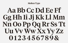 Typeface designed by Hey for glassware maker Jeremy Maxwell Wintrebert #typeface #alphabet #stencil #hey