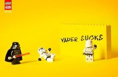 FFFFOUND! | Lego Star Wars | Fubiz™ #ads