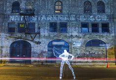 Light Painting Photography by Darren Pearson