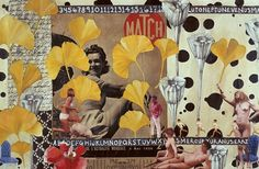 Lulu's Collages – Honestly WTF #women #collage #retro #flowers