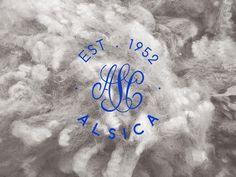ALSICA - rebrand design by AER CREATIVE STUDIO - aercreativestudio.tumblr.com #logotype #fabric #moodboard #design #graphic #rebrand #brand #cotton