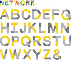 D&AD Education Network | Bibliothèque Design #typeface
