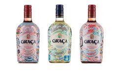 "GRAÇA ""Pick up line"" Campaign Wine Packaging on Behance"