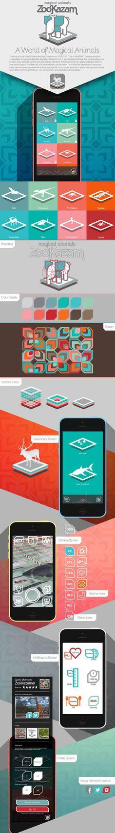 ZooKazam 3.0 AppDesign by Reza Alavi