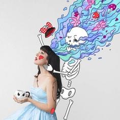 The inside of your head looks like a technicolour dream – dizzy little dotty