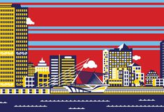MKE-zoom.png #city #illustration #building #milwaukee