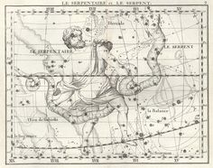 The Celestial Atlas of Flamsteed (1795) | The Public Domain Review #stars