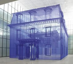 CJWHO ™ (Artist Do Ho Suh's ghostly fabric sculptures...)